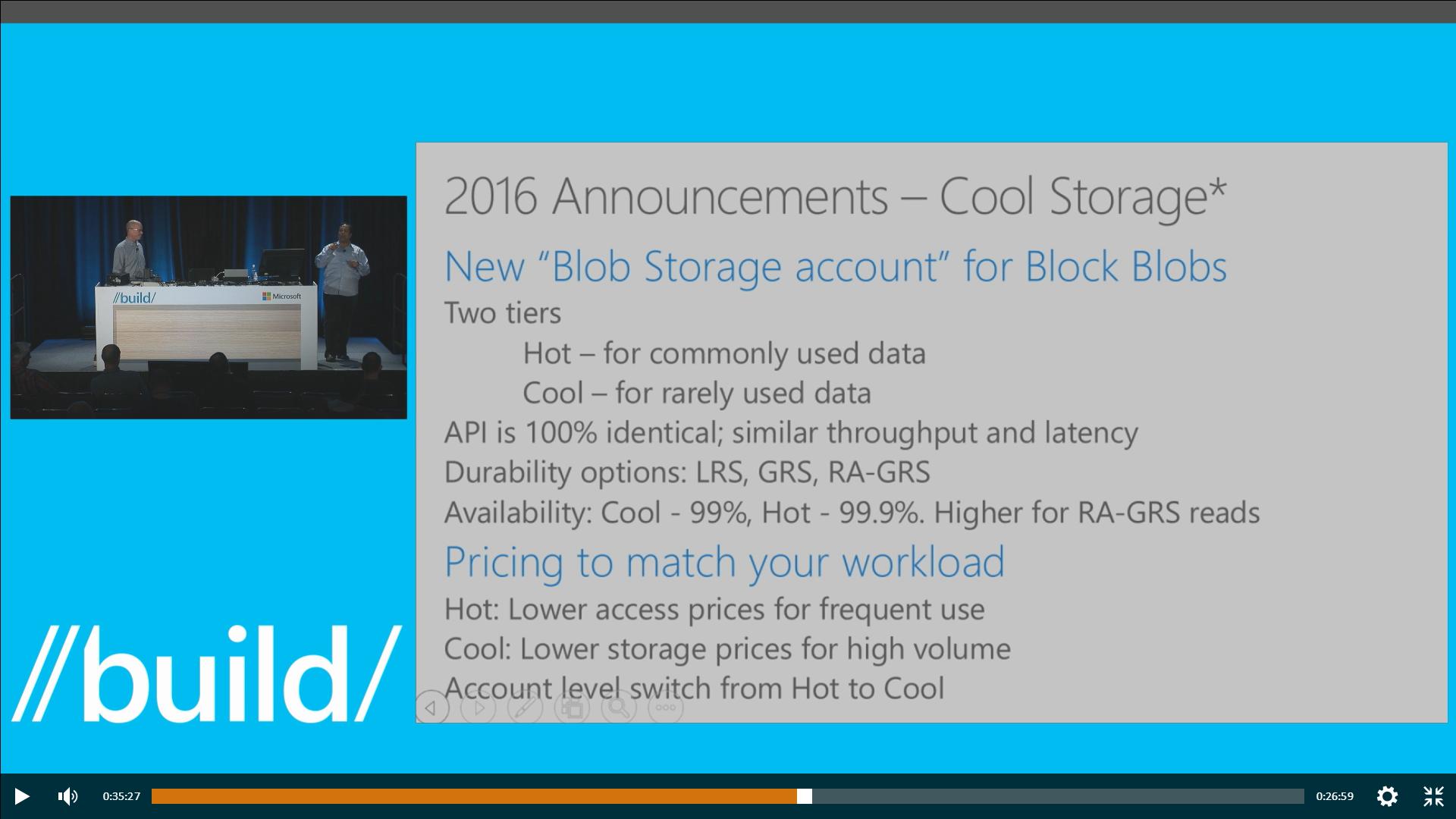 Cool Storage